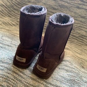 Used Brown Ugg boots